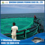 Le HDPE flottant la mer profonde en mer met en cage des exploitations de pisciculture