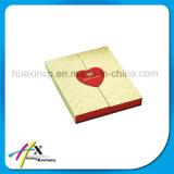 Cadre de empaquetage de cadeau de papier de Christma de célébration de mariage