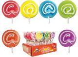 Swirl Lollipop Candy y caramelo duro para tiempo libre