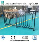 La poudre noire a enduit la frontière de sécurité en acier galvanisée par qualité pour la circulation et le balcon
