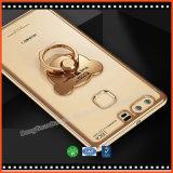 Caja del teléfono del sostenedor del anillo de TPU para iPhone8 Huawei MI Vivo