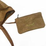 Weiß gewaschene Packpapier-große Kapazitäts-Handtasche (16A085-1) imprägniern