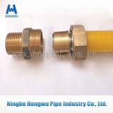 Encaixe de tubulação de bronze da compressão do redutor