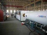 Ligne d'extrusion de pipe de HDPE d'étalonnage de vide