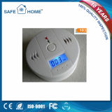 LCD Display High Sensitivity Battery Operated Carbon Monoxide Detector (SFL-508)