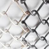 Rete fissa rivestita nera di collegamento Chain del PVC