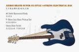 Тавро Aiersi полностью твердый супер бас типа 4-String Pj (точности/джаза) электрический