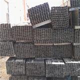 Fábrica ASTM A500 GR de Youfa. uma tubulação pintada do quadrado preto para os suportes