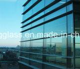 5-6mm personalizou a baixa parede de cortina dobro de vidro isolada vidro de E