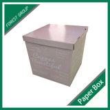 Rectángulo de almacenaje de papel de encargo al por mayor