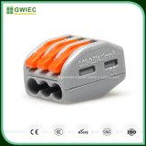 Connecteur imperméable à l'eau hommes-femmes de cosse de constructeur de Gwiec Chine