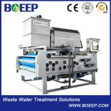 Давление фильтра пояса обезвоживателя шуги для обработки сточных вод общины земледелия