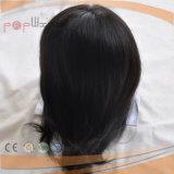 Menschenhaar-unverarbeiteter Strahlen-Schwarz-Jungfrau-Haar-Haar-StückToupee 100%
