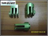 Pièces de usinage automatiques en aluminium personnalisées de commande numérique par ordinateur de pièces de rechange d'OEM de précision