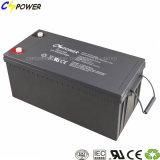 Batterij 12V200ah van het Gel van de Macht van de Opslag van de fabrikant de Navulbare Zonne voor UPS