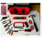 201PCSセットされる専門のピンクの機械道具袋(FY201B)