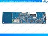 placa de circuito da impressão de 0.5mm com componentes elétricos