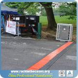 Protetor do cabo da rampa do cabo de Rk 3-Channels para eventos ao ar livre