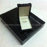Коробка деревянных ювелирных изделий комбинации Croco кожаный установленная упаковывая