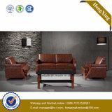 Sofá moderno de la oficina del sofá del cuero genuino de los muebles de oficinas (HX-CF021)
