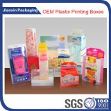 La bolsa de plástico grande colorida modificada para requisitos particulares de la impresión