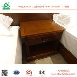 쌍둥이 침실 세트의 단단한 나무 호텔 가구를 가진 합판