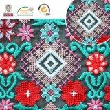 Merletto variopinto di Polyster, indumento dell'Africa e cerimonia nuziale, 2017 vendita più calda C10046