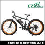 26 인치 최신 판매 뚱뚱한 타이어 전기 자전거
