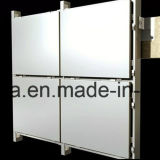 Revêtement en aluminium de mur de panneau de nid d'abeilles pour l'extérieur