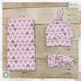 Vestito organico accessorio del bambino del cotone del bambino di stampa del cuore