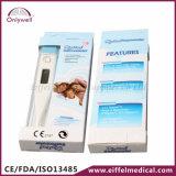 Thermomètre électronique clinique d'enfants de Digitals de secours médical avec des notes de la CE