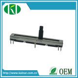 Potentiomètre Wh4511 de glissière de longueur de course du prix usine 45mm