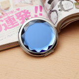 Förderndes bekanntmachendes Geschenk - kundenspezifische bewegliche Kristallkosmetik bilden Pocket Spiegel