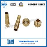 Piezas de cobre / latón de alta precisión de mecanizado CNC personalizadas