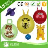 Plastik No4-13 spielt Tier-aufblasbare Gummikugel Belüftung-Spielzeug-Kugel