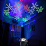 luz laser de la Navidad blanca de 4W RGB