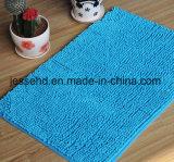 La estera de puerta del Chenille embroma la alfombra del suelo con el forro del PVC