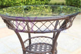Оптовая крытая и напольная мебель ротанга PE балкона