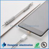 Câble usb de remplissage d'adaptateur magnétique micro androïde pour la tablette de smartphone