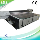 China Alta calidad de gran formato UV LED Flatbed Printer