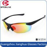 Тонкие солнечные очки покрытия иридия виска с стеклами половинной рамки задействуя