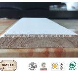 Panneau d'intérieur décoratif en bois d'épinette en bois de bonne qualité