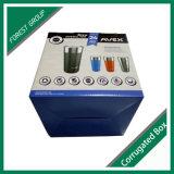 Spezieller Farben-Drucken-Flaschen-Karton mit Griff