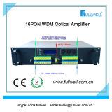 16 accesos por el combinador de la salida 20dBm Pon CATV EDFA con la fuente de alimentación dual