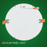 Bis 둥근 주거를 가진 매우 호리호리한 LED 위원회 빛