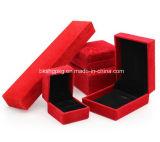 Коробка ювелирных изделий оптовой продажи коробки упаковки заказа коробки ожерелья высокосортной коробки ювелирных изделий коробки ювелирных изделий коробки бархата привесная