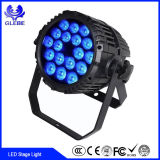 Träger-Licht Dimmable RGB LED des LED-PAR64 36X3w Träger-LED DJ helle justierbare Stadiums-Beleuchtung