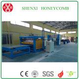 Maquinaria de alta velocidade do favo de mel do papel da porta