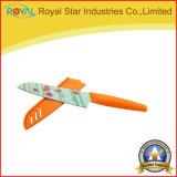 新しいデザイン印刷の皮をむくナイフの卸し売りステンレス鋼のフルーツのナイフ