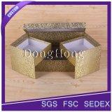 立方体の形の花模様の空想の贅沢で堅いボックス